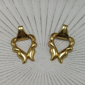 🌵 Vintage gypsy doorknocker french abstract gold